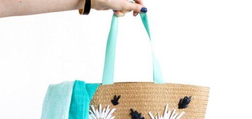 Украшаем летнюю сумку
