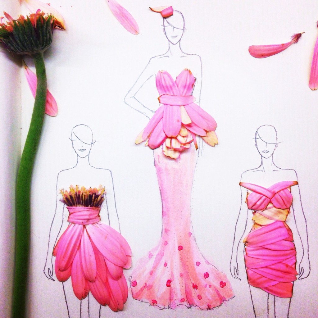 Fashion design color pencils 58