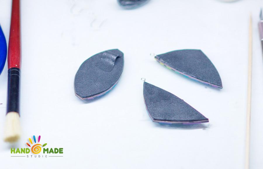 Полосатый комплект, или как использовать остатки глины