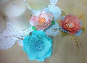мастер-класс по созданию цветка из фоамирана