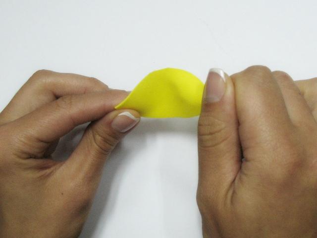 нагрваем кончик отдельно и подкручиваем пальцами